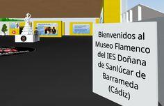 Museo del flamenco interactivo en Realidad Virtual | @musikawa #VR Tech Companies, Company Logo, Logos, Interactive Museum, Flamingo, Museums, Logo