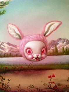 Mark Ryden Bunny Window