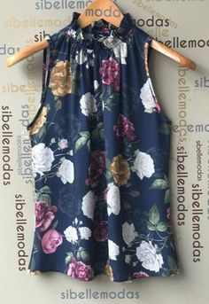 Would also be nice painted on silk Summer Work Outfits, Mom Outfits, Casual Dresses, Casual Outfits, Fashion Outfits, Blouse Styles, Blouse Designs, Scarf Dress, Loose Shirts