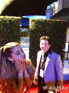 Ariana Grande at the American Music Awards