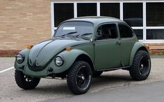 Dubs & Babes — hemmingsmotornews: Clean 1974 Baja Bug for sale...