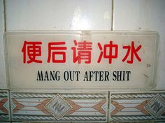 I swear, this happens all the time in China.  #funny #China