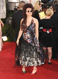 Helena Bonham Carter Photos - 68th Annual Golden Globe Awards - Arrivals - Zimbio