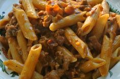 Itdoesn'thave to be minced beef in a tomato sauce you know. Real Bolognese is something more. So much more! This recipe is fantastic and is taken from Marlena di Blasi's wonderful Region…