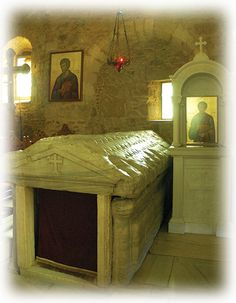The Tomb of St. Luke the Evangelist, Thebes (Thiva), Greece
