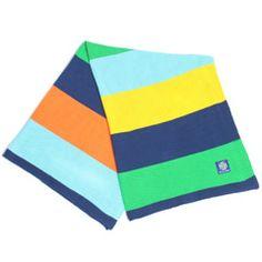 Show your Stripes Boy Knit Stroller Blanket