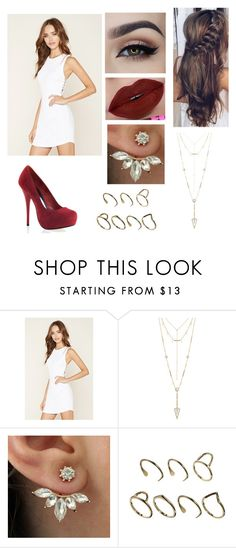 """""""Untitled #593"""" by ray-dany ❤ liked on Polyvore featuring Forever 21, House of Harlow 1960 and ASOS"""