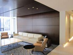 Skyfold Elite wood veneer wall- 57 STC