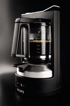 Amazon.com: KRUPS KM4688 Moka Brewer Filter Coffee Maker, 10-Cup, Black: Kitchen & Dining