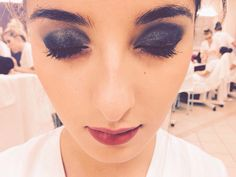 Maquillage soir type smoky