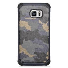 EGC Dual Armor Galaxy S6 edge Plus Case - Camouflage Grey