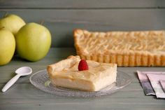 Tarta de manzana y crema pastelera | Recetas Thermomix | MisThermorecetas