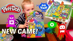 Play-Doh Video! Play-Doh Monster Smash Game! Family Game Time - Learning...