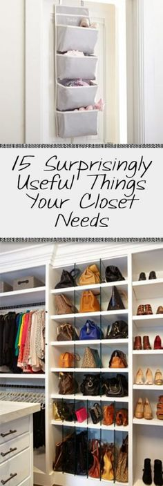 15 Surprisingly Useful Things Your Closet Needs - Organization Junkie