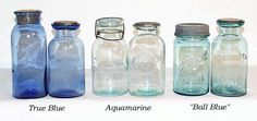 Awesome jars for my storage... reminds me of the ever changing hues of Lake Superior.  #LGLimitlessDesign and #Contest