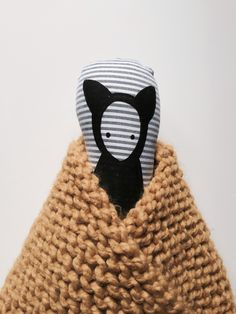 Dolls and Knitted blanket from nakedlunge.bigcartel.com