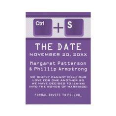 Geek Wedding Invitations!