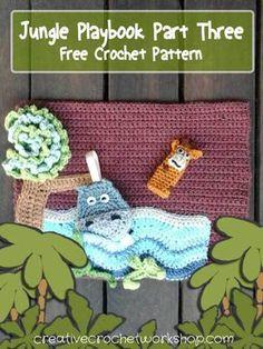 My Jungle Playbook Part Three - Free Crochet Pattern | Creative Crochet Workshop