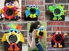 Lens friends - These are a fantastic way to get all little eyes on the camera lens! X