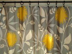 Window Drapes, Designer Curtain Panels, 50x84 Thomas Paul Modern Window Treatments, Color Options. $310.00, via Etsy.