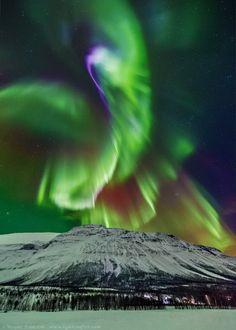 Aurora in Kitdalen, Norway* by Wayne Pinkston on 500px