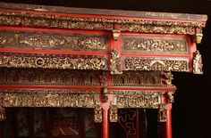 18th c. Exotic Chinese Dining Room/Bed Alcove image 5