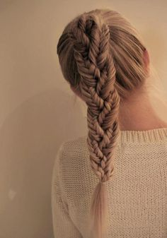Fishtails in regular braid.