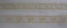 71-100192/F, 193/F - Swiss Cotton Organdy, Beading & Insertion, Ecru Emb. on White