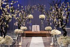 A Modern Bold, Black and Beautiful Wedding In The Artifacts Room, Liberty Grand - Wedding Decor Toronto Rachel A. Clingen Wedding & Event Design