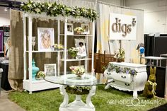 wedding show booth ideas | Natural, earthy, organic inspirations added with a touch of vintage ...