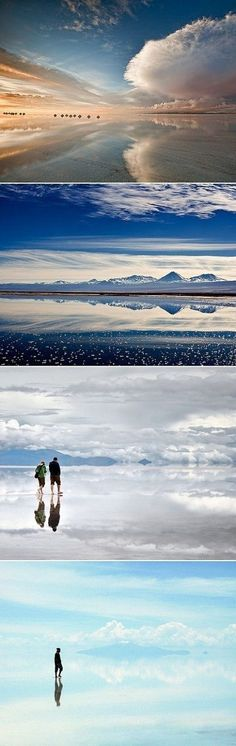 Mind-blowing Infinity in Bolivia! - - Mind-blowing Infinity in Bolivia! - Nicole Hayes - Niki Haze Mind-blowing Infinity in Bolivia! exPress-o: Mind-blowing Infinity in Bolivia! Oh The Places You'll Go, Places To Travel, Places To Visit, Uyuni Bolivia, Vacation Days, Dream Vacations, Italy Vacation, Bolivia Travel, Backpacker