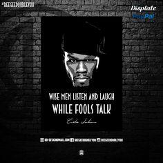 50 Cent on Poster! @Displate #black #popart #bustarhymes #studio #hiphop #quotes #hiphopart #natedogg #mancave #wizkhalife #djkhaled #snoopdogg #awesome #thegame #biggiesmalls #bobmarley #displate #tupacshakur #geazy #displates #quote #posters #hiphop #future #worldstar #eminem #fanart #sayings #hiphoplegends #urban #natedogg #juicyj #hiphophead #hiphopquotes #dmx #westcoast #eastcoast #50cent #fatjoe #kendricklamar #stoney #420 #drake #rap #jayz #eazye #methodman #redman