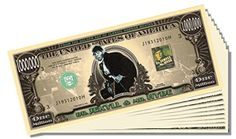 Dr. Jekyll and Mr. Hyde Million Dollar Bill - 10 Count with Bonus Clear Protector and Christopher Columbus Bill * This is an Amazon Affiliate link. Want to know more, click on the image.