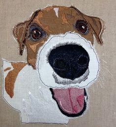 Applique Quilt Patterns, Applique Designs, Embroidery Patterns, Machine Embroidery, Applique Ideas, Sewing Patterns, Cat Quilt, Dog Quilts, Animal Quilts