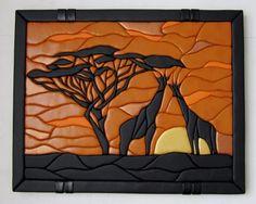 flic-flac 8 x 12 inches x Assorted Color Felt Fabric Sheets Patchwork Sewing DIY Craft Thick … Clay Wall Art, Wood Wall Art, Tile Art, Mosaic Art, Mosaics, Felt Flower Pillow, Intarsia Wood Patterns, Mosaic Animals, Origami Paper Art