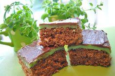3-chokoSticksCake Cake Recipes, Dessert Recipes, Desserts, Danish Dessert, Almond Joy, Mint Chocolate, Cake Cookies, Food Porn, Food And Drink