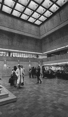 Scarborough College, Scarborough, Ontario, Canada, 1963-66 (John Andrews)