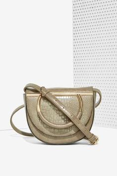 Sadie Textured Crossbody Bag | Shop Accessories at Nasty Gal!