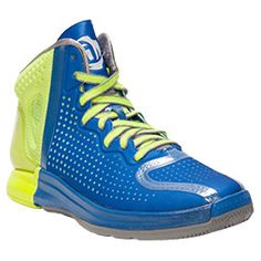 Men\u0026#39;s adidas D Rose 4.0 Basketball Shoes | FinishLine.com | Blast Blue/Running