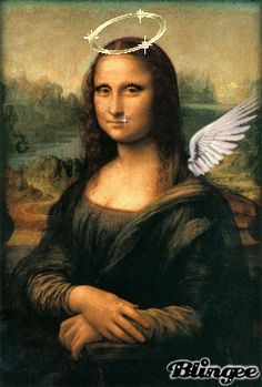 Die ''Mona Lisa'' La Madone, Mona Lisa Parody, Mona Lisa Smile, Classic Artwork, Renaissance Artists, Guinness World, Gifs, Italian Artist, Humor