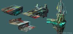 ArtStation - Environments - Disney Infinity 2.0, Damian Buzugbe
