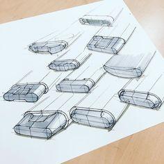 기초스케치. Rounded variation - - #sketch #sketching #drawing #스케치 #제품스케치 #제품디자인 #산업디자인 #기초스케치 #industrialdesign #industrial #productdesign #productsketch #rounded #variation #f4f #like4like #l4l #tagsforlikes by h_wooook