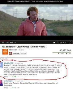 Ronald Weasley!!!! @Tatiana Bowe Hernandez