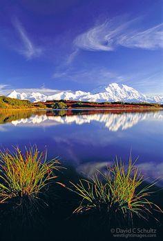 Reflection Pond, Mount McKinley, Alaska.