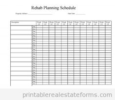 Sample Printable Marketing Form  Printable Real Estate Forms
