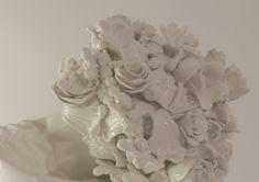 FLOWER BOUQUET  Zachycení pomíjivosti krásy řezaných květin.  >>>ručně modelováno #BarboraŠimková #Flower #bouquet #Handmade #keramika #porcelán #ceramic #porcelain #design #czech #umprum #vsup  Barbora Šimková http://barborasimkova.tumblr.com simkova24@gmail.com https://cz.pinterest.com/simkova24/barbora-šimková/