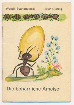 Die beharrliche Ameise, Minibuch 16, Der Kinderbuch Verlag Berlin, 1982