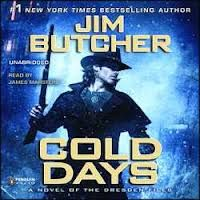 """Finally I read the latest in Jim Butcher's series """"The Dresden Files"""". I didn't think he could top his last book """"Ghost Story"""" where Harry Dresden was, well, a Ghost, but his resurrection and subsequent trials and plot twist left me wanting to read the next in the series (not yet written) NOW! I love Jim Butcher's writing. Read February 2013"""