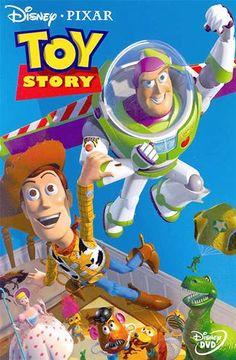 """Toy Story (© Disney/Pixar) """"you've got a friend in me"""" :) a true classic love story between toys and a child"""