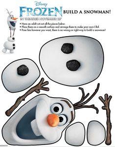 FROZEN build a snowman